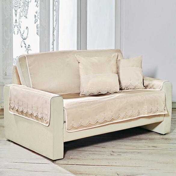 Sofaüberwurf für 2-Sitzer 120 x 187 cm