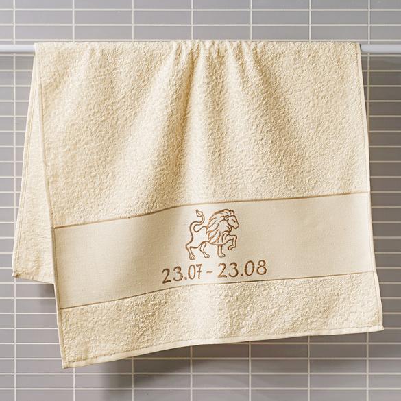 """Handtuch """"Löwe"""" beige Casa Bonita"""