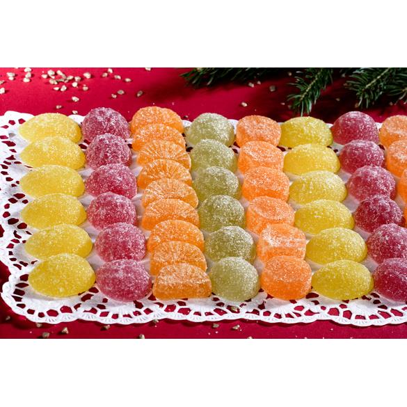 Gelee-Früchte mit Fruchtmark