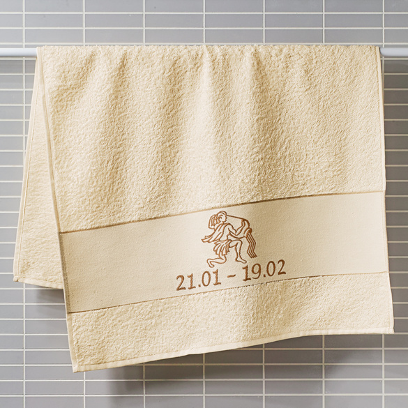 """Handtuch """"Wassermann"""" beige Casa Bonita"""