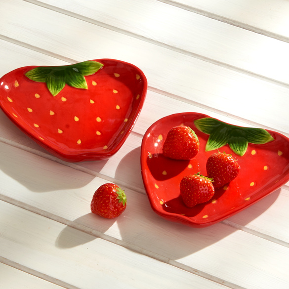 "Teller ""Erdbeere"" Basilico"