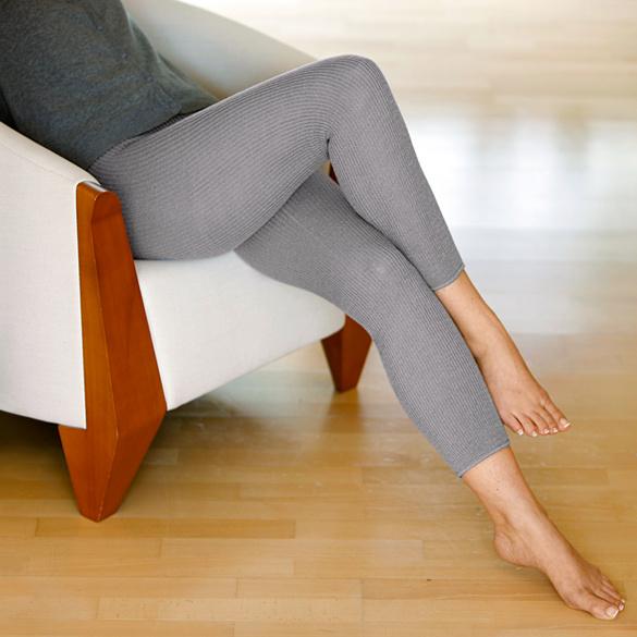 Beinwärmer grau