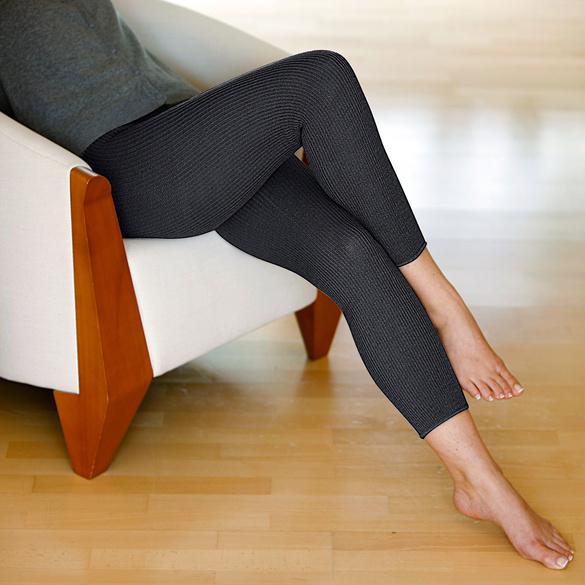 Beinwärmer schwarz