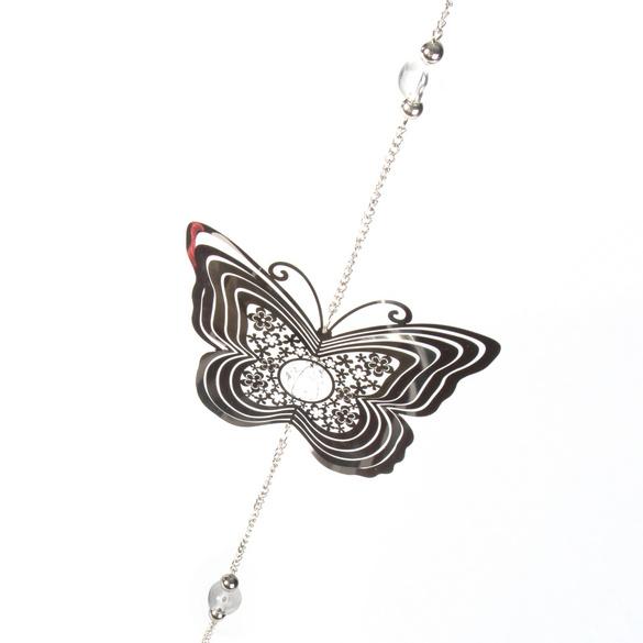 """Dekohänger """"Schmetterling"""" silberfarben"""