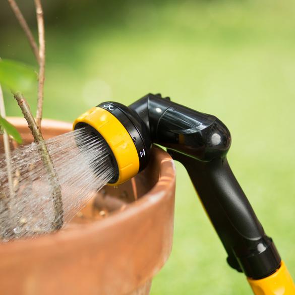 Gartenbrause mit Sprinkler 2-in-1