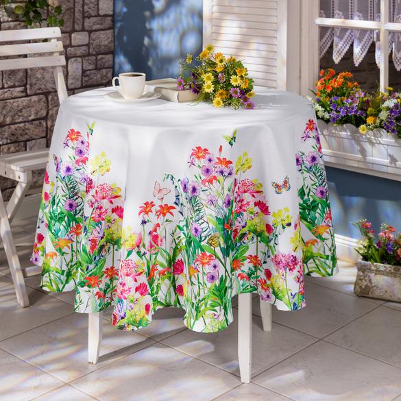 """Tischdecke """"Wiesenblumen"""""""