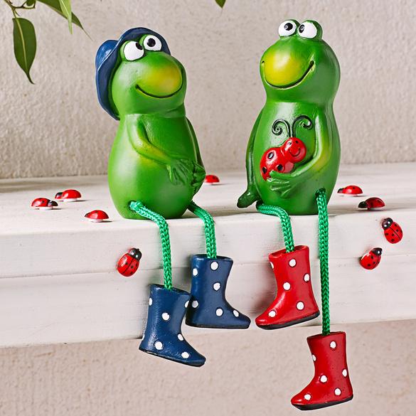 """Kantensitzer """"Frosch"""", 2er-Set"""