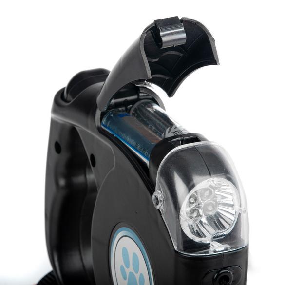 Automatik-Hundeleine mit LED