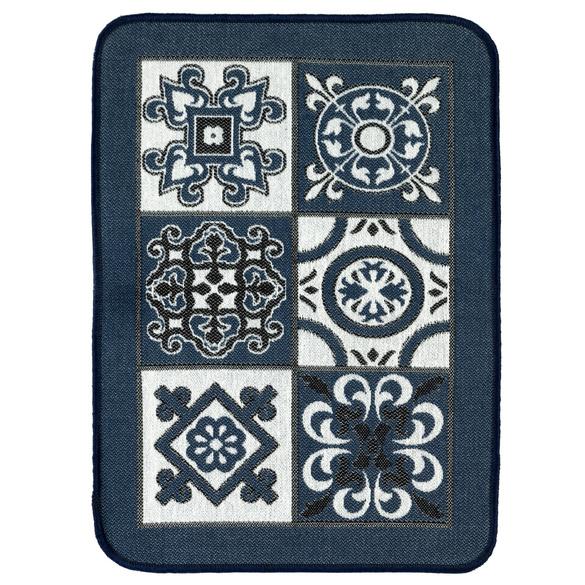 Küchenteppich blau