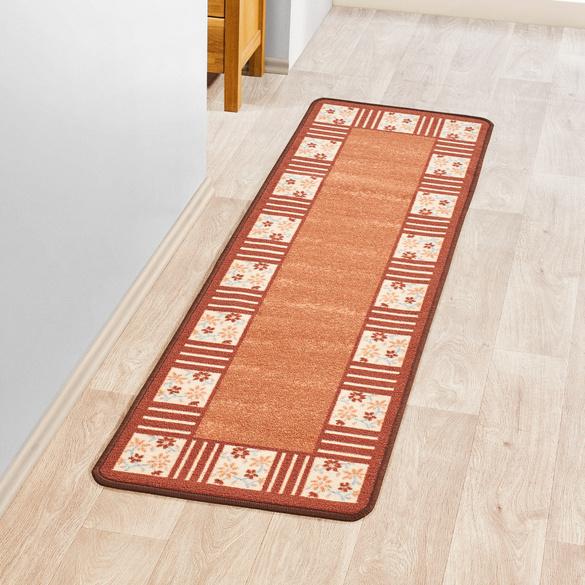 "Teppich ""Karo"" braun Casa Bonita 50 x 150 cm"