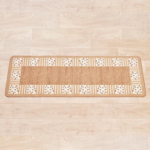 "Teppich ""Karo"" beige Casa Bonita 50 x 150 cm"