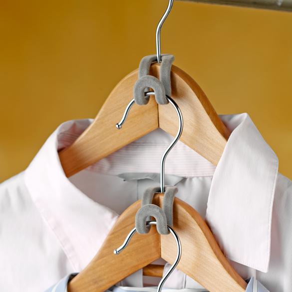 Kleiderbügel-Haken 10er-Set