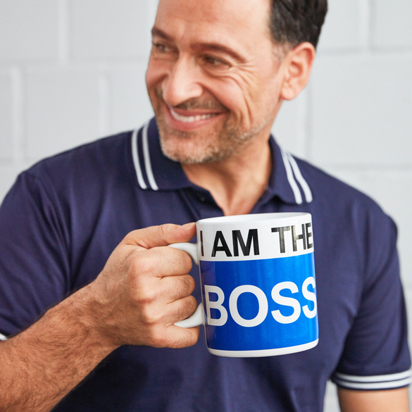 """Becher """"I`m the Boss"""""""