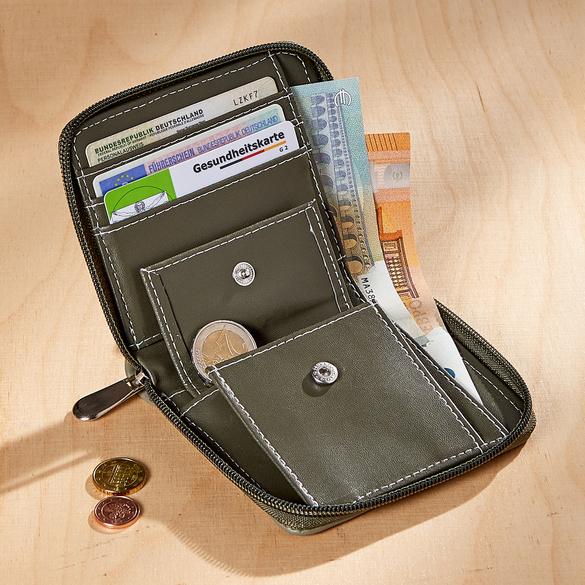 Geldbörse mit RFID khaki
