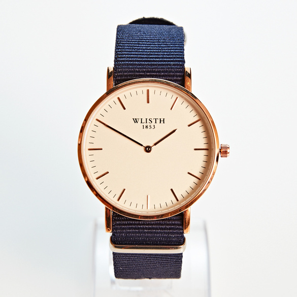 Herren-Armbanduhr marine