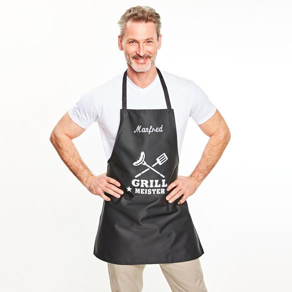 Grillschürze Grillmeister, personalisiert