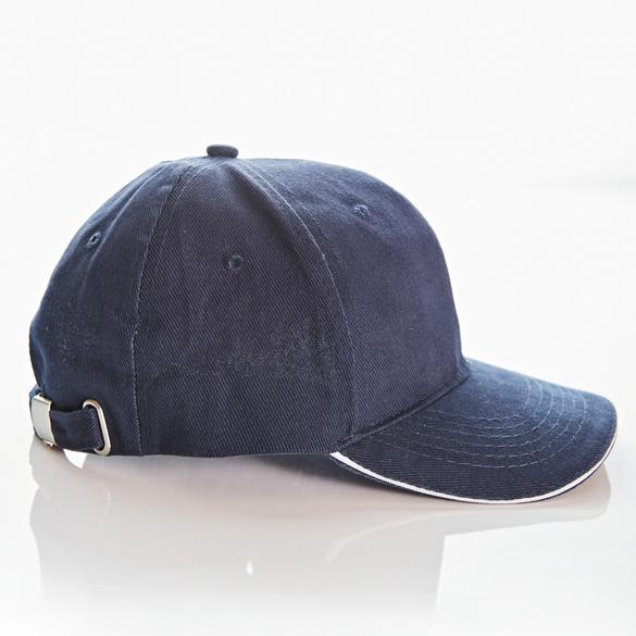 Kappe blau-weiß