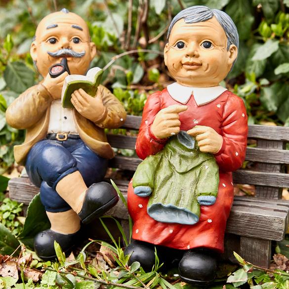 """Dekofigur """"Oma & Opa"""" Casa Bonita"""