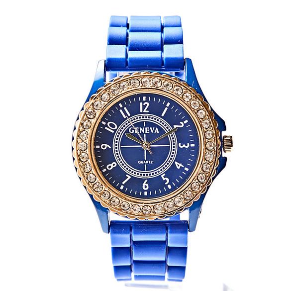 Damenuhr blau