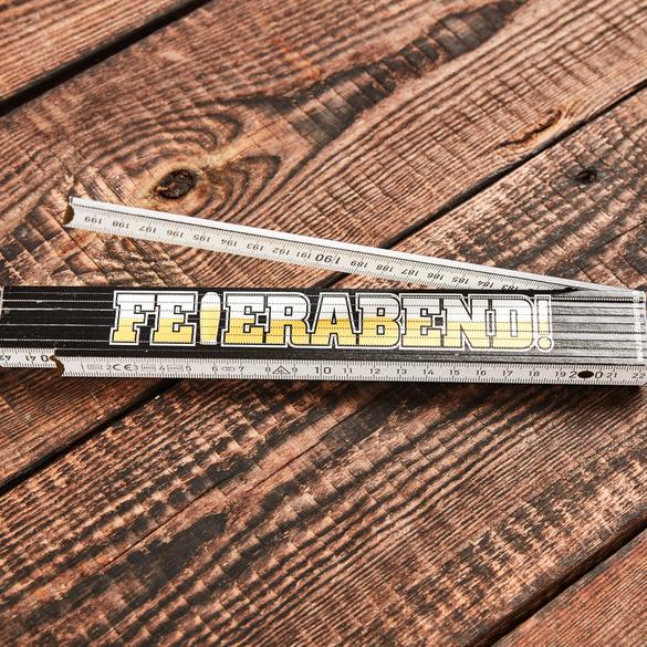 """Zollstock """"Feierabend"""""""