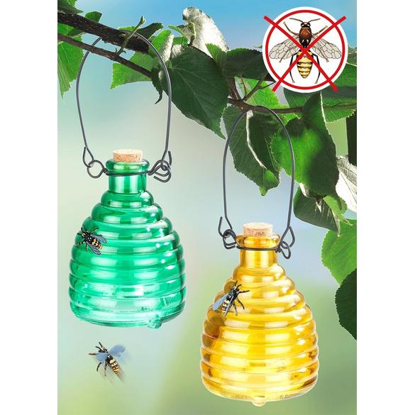 Wespenfalle gelb + grün