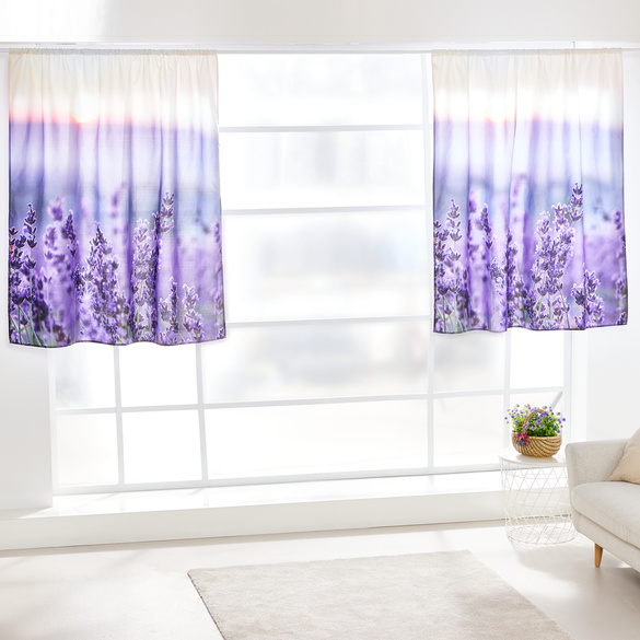 "Vorhang ""Lavendel"" Casa Bonita 140 x 140 cm"