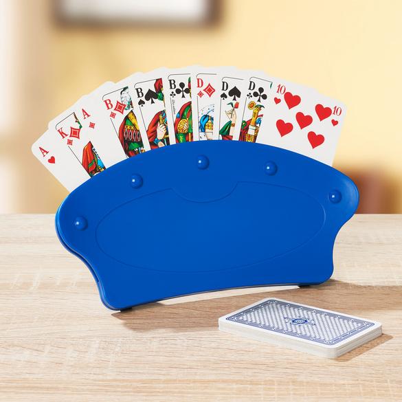 Spielkartenhalter 2-in-1