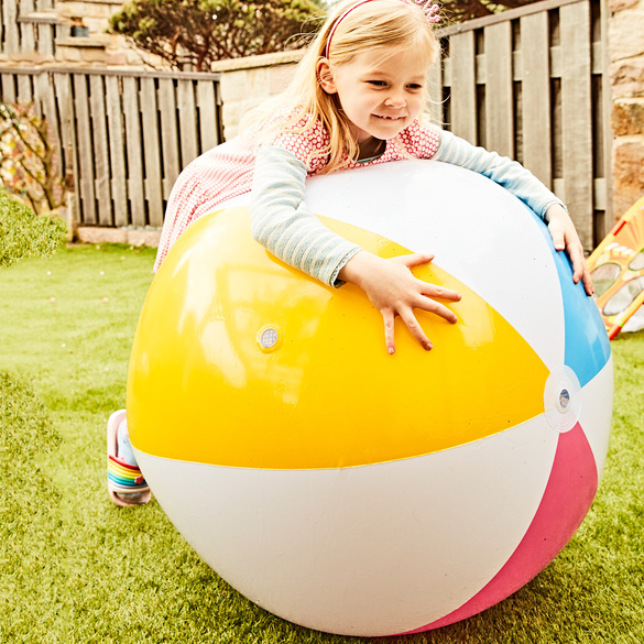 Aufblasbarer Sprinklerball