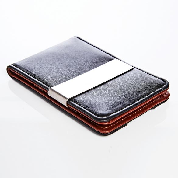 Kreditkarten-Etui mit Geldklammer, RFID