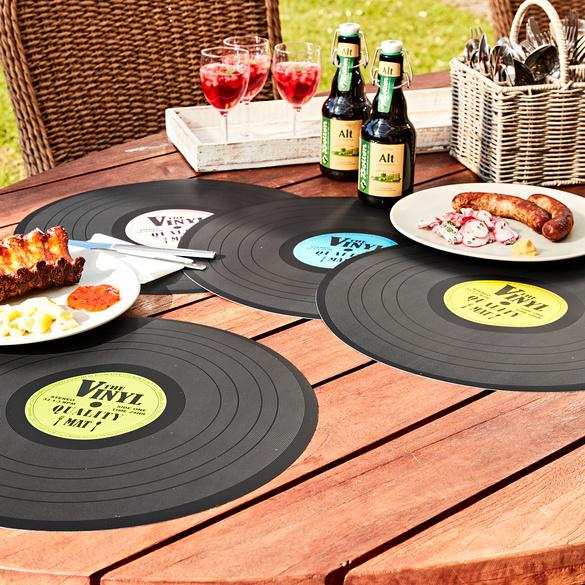 "Tischset ""Schallplatte"""