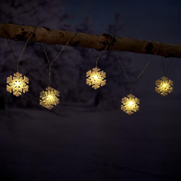 """Lichterkette """"Schneeflocken"""""""