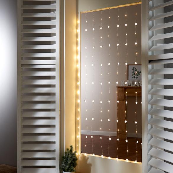 LED-Lichtervorhang für Türen