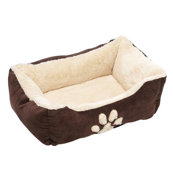 Haustierbett groß braun