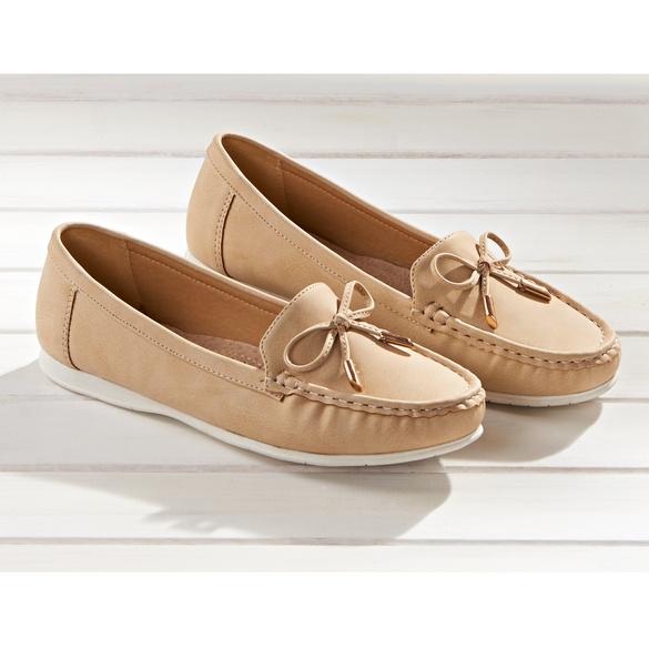 "Schuh ""Susi"" beige"