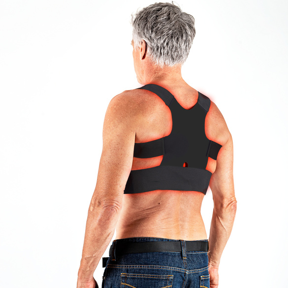 Kupfer-Rückenstütze schwarz