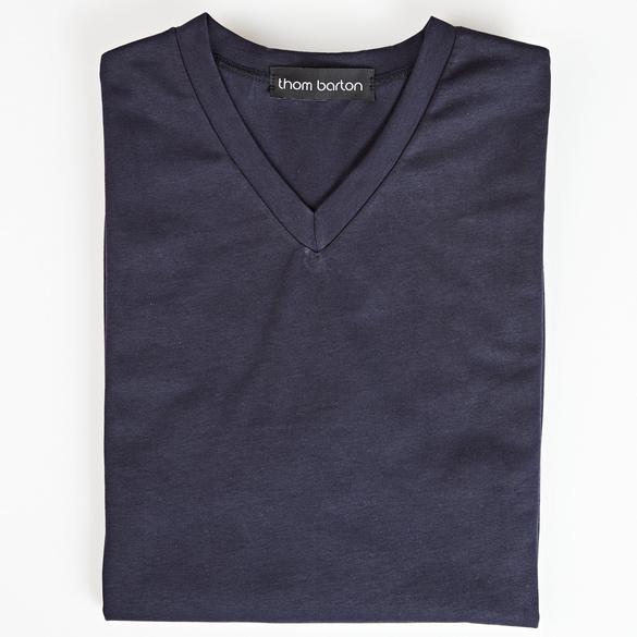 V-Shirt dunkelblau