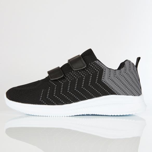 Schuh Mick schwarz/grau
