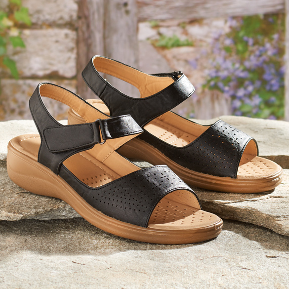 "Sandalette ""Ilse"" schwarz"