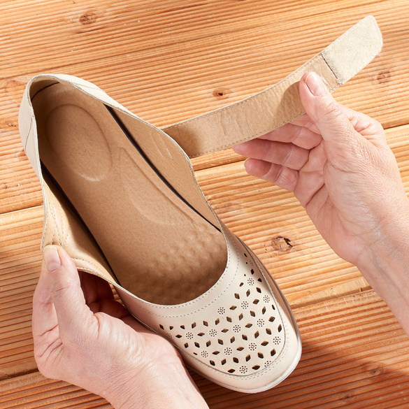 """Schuh """"Karin"""" beige"""
