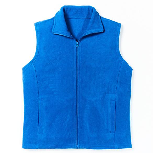 Fleece-Weste royalblau