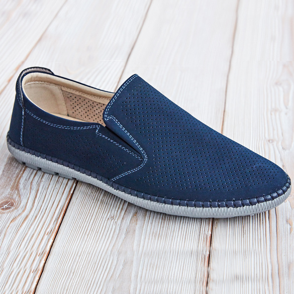 Schuh Rudi navy