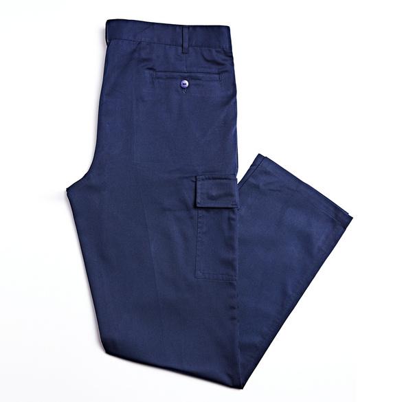 Herren-Cargohose, dunkelblau