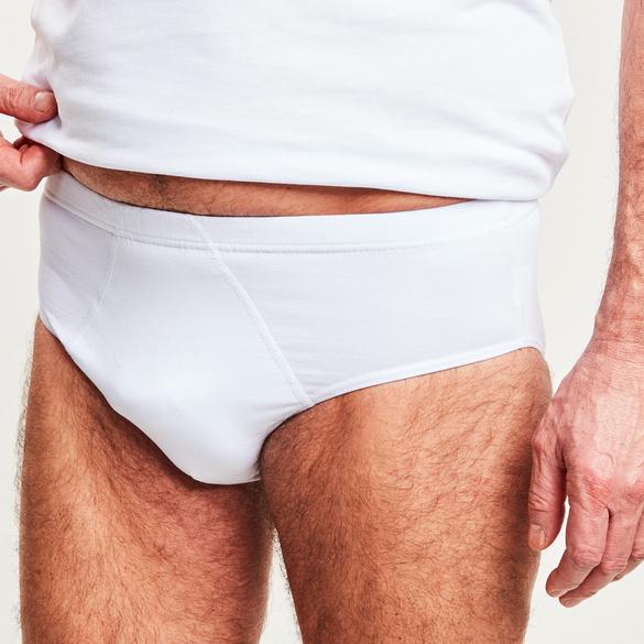 Männer-Slip, weiß