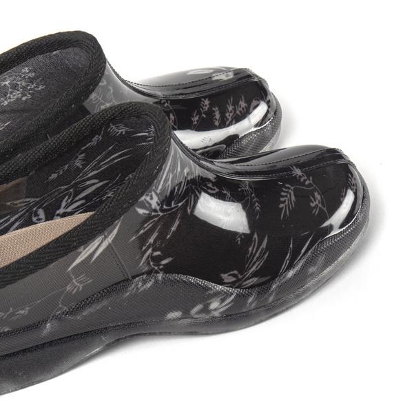 """Clog """"Lari"""" schwarz-grau"""
