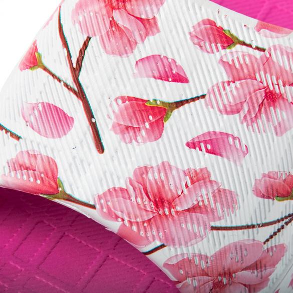 """Badepantolette """"Pant Yoko"""" fuchsia-floral"""