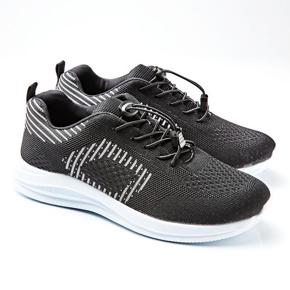 Schuh Roger, schwarz/weiß