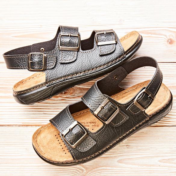 "Sandale ""Glen"" schwarz"