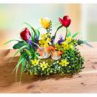 Blumengesteck mit Tulpen