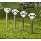 "Solarleuchten ""Diamant"", 2er-Set"
