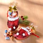 Weihnachtspantoffel mit Süßwaren